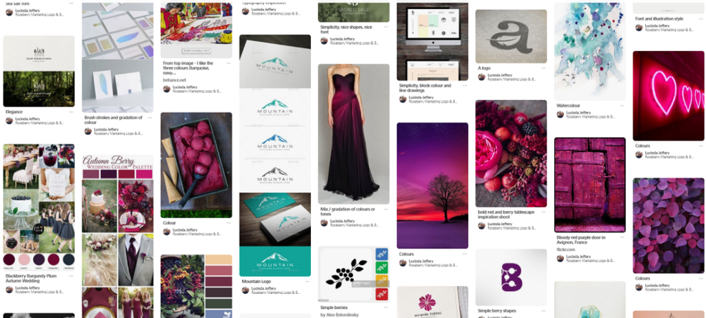 Roseberry Marketing Pinterest Screenshot